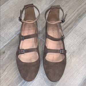 Madewell The Julie Suede Flat